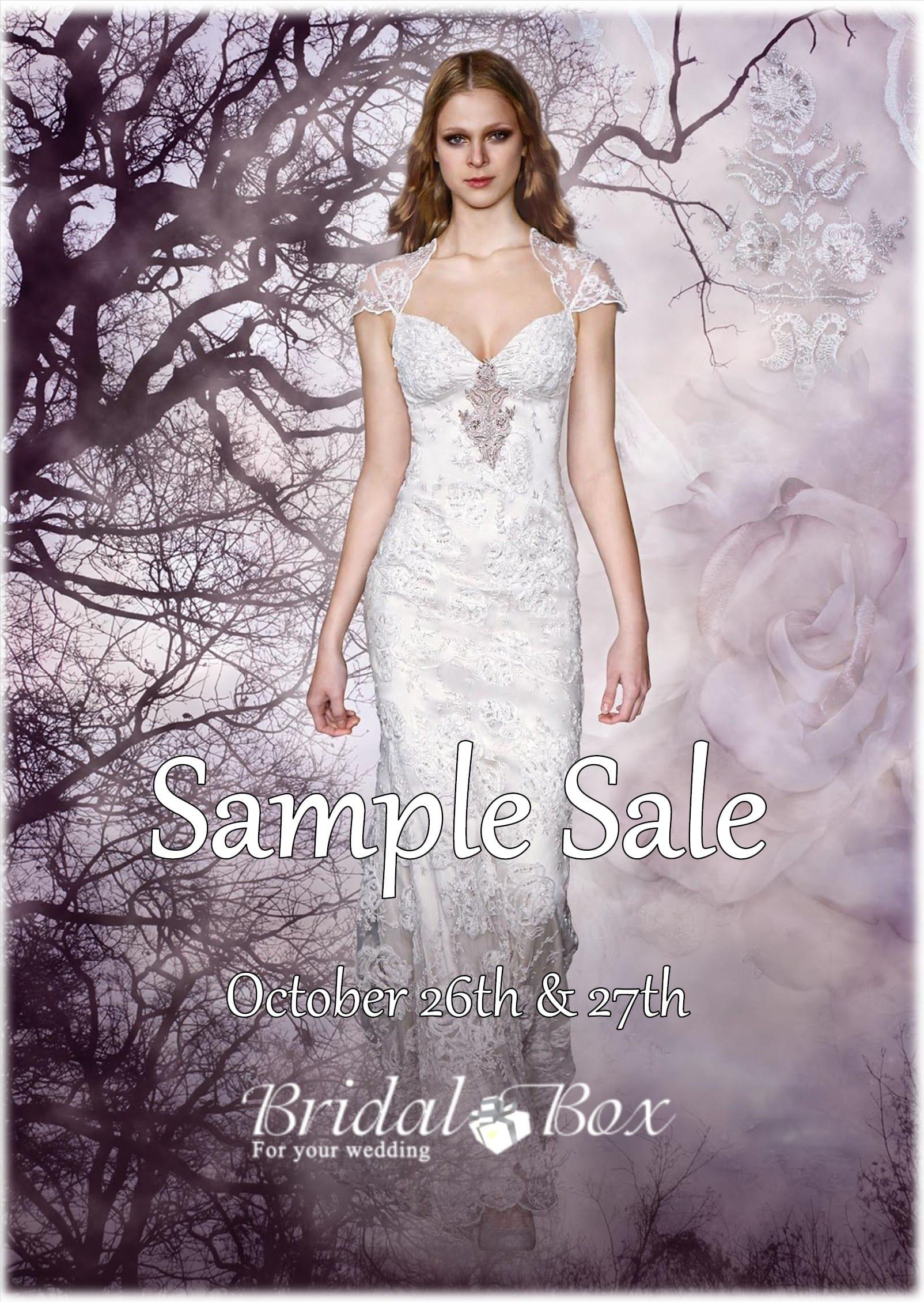 Bridal Box Sample Sale 2019
