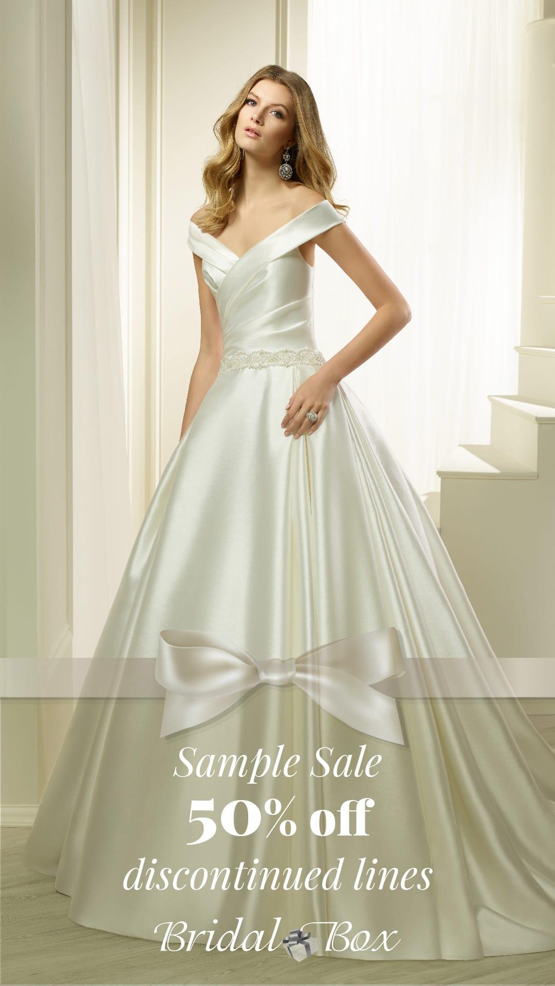 Bridal Box 2020 Sample Sale