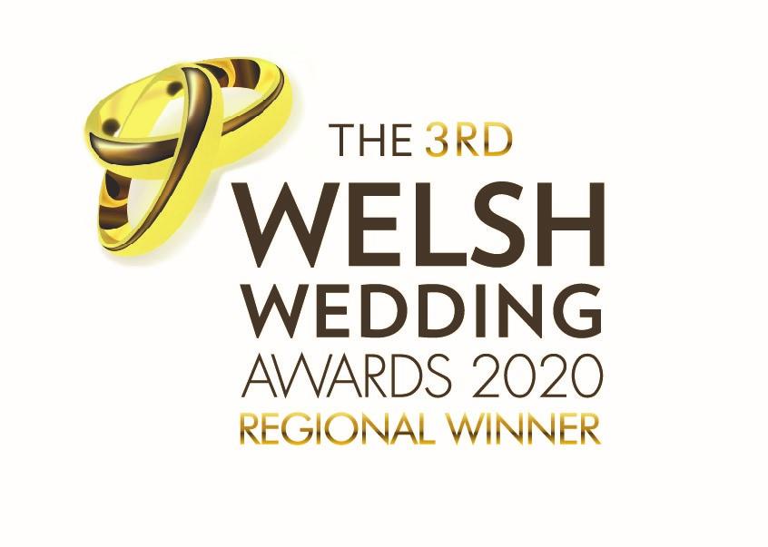Welsh Wedding Award Regional Winner
